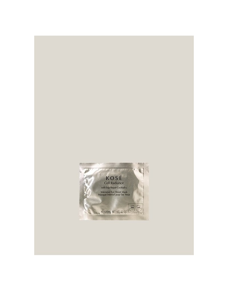 Intensive Eye Sheet Mask, 6,4ml Kosé Cell Radiance