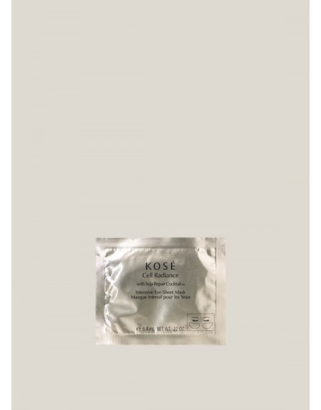 Intensive Eye Sheet Mask, 6,4ml Kosé Cell Radiance
