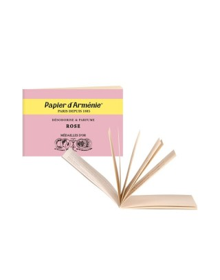 Carnet Rose Papier d´Arménie