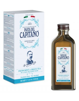 Fresh Mint & Green Tea 100ml Pasta del Capitano 1905