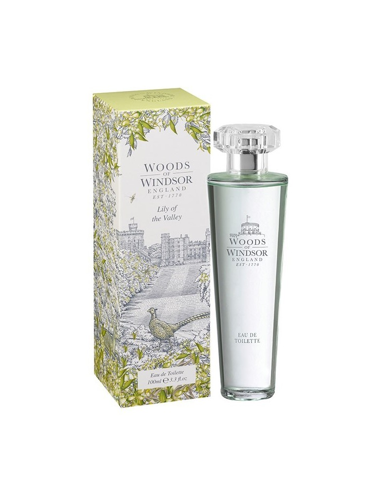 Lily of the Valley Eau de Toilette 100ml WOODS OF WINDSOR