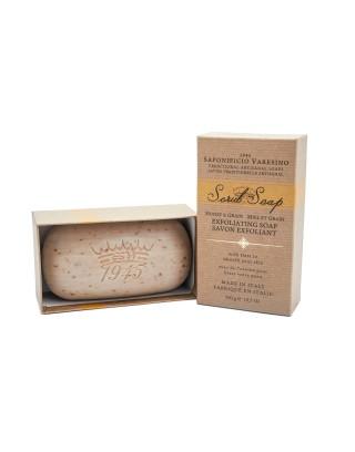 Jabón exfoliante, 300g · Almendra Jabones