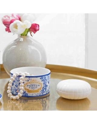 Gold & Blue Soap in Jewel Box Portus Cale