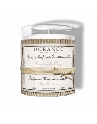 Bougie Parfumée · Poudre de Riz Durance Hogar|Regalo