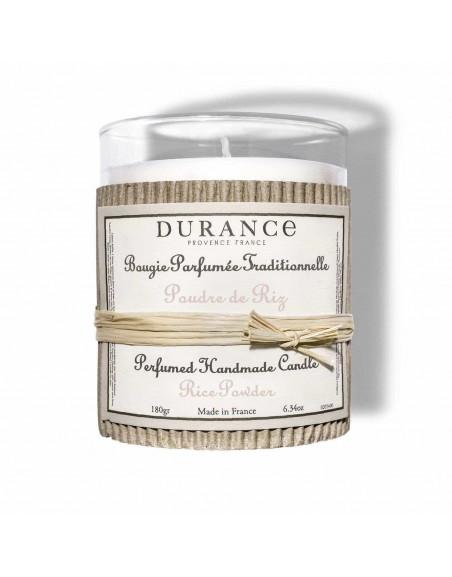 Bougie Parfumée · Poudre de Riz Durance Hogar Regalo