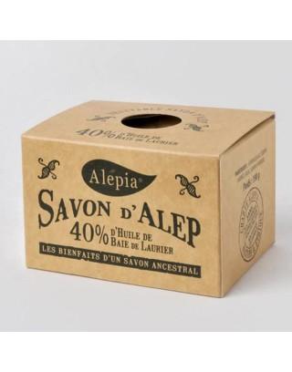 Jabón de Alepo 40% Laurel, 190g Jabones