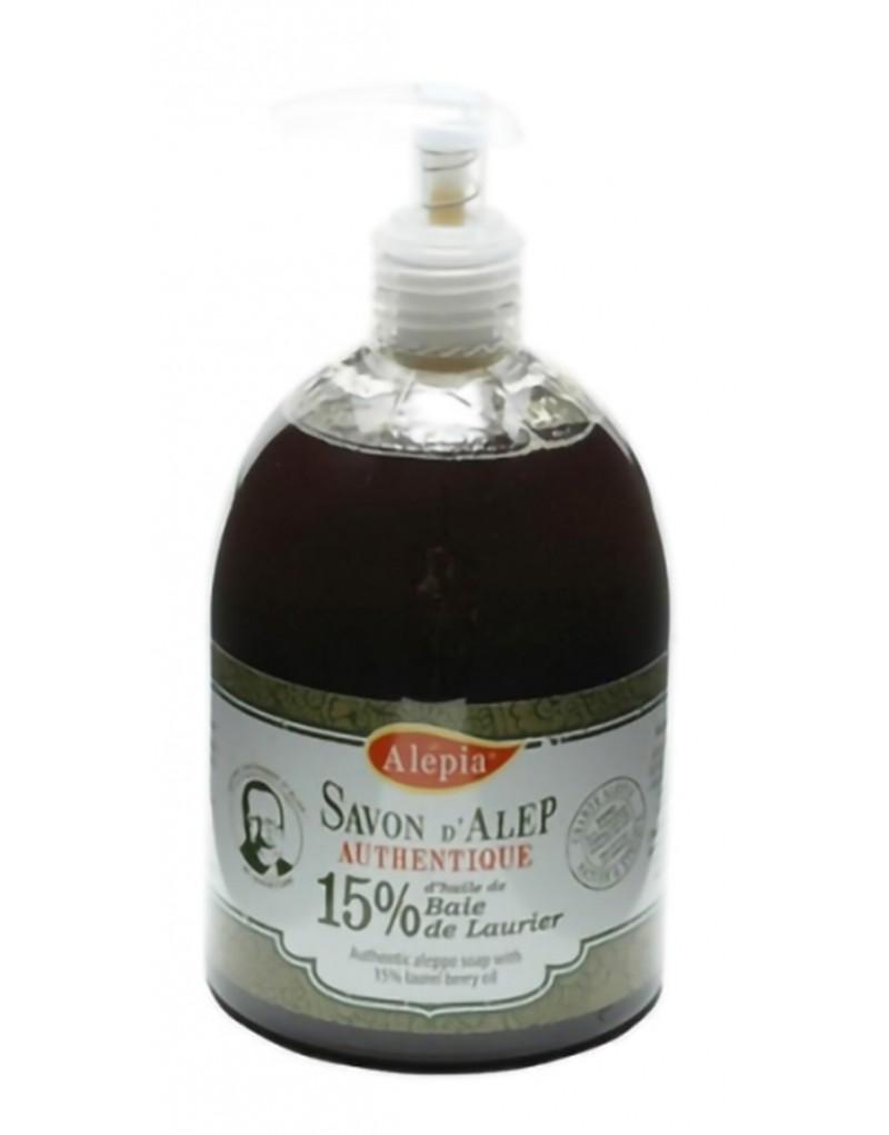 Jabón de Alepo Líquido 15%, 500ml Jabones