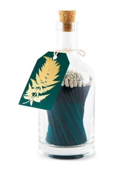 Bottle Matches Gold Fern Archivist | Cerillas
