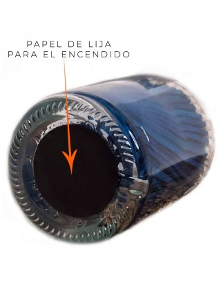 Bottle Matches Red Heart Archivist | Cerillas