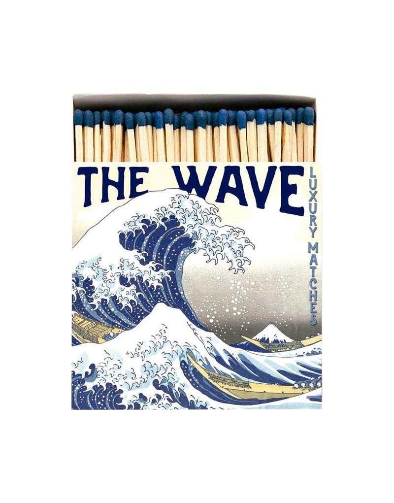 Square Matchbox The Wave Archivist | Cerillas