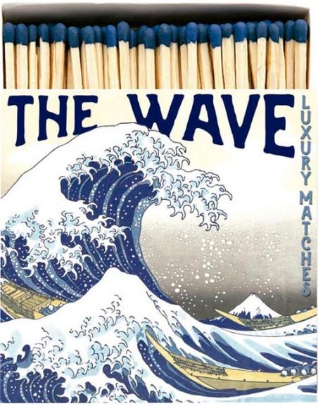 Square Matchbox The Wave Archivist   Cerillas