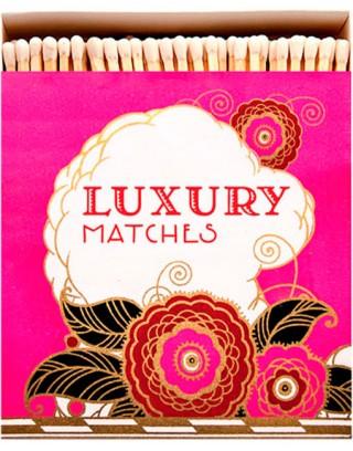 Square Matchbox Pink Luxury Archivist | Cerillas