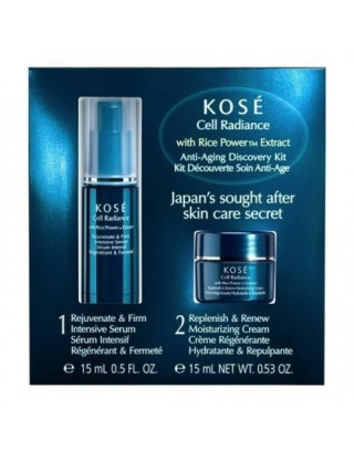 Discovery Kit Anti-Aging Kosé Cell Radiance