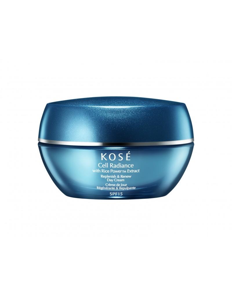 Replenish & Renew Day Cream SPF15, 40ml Kosé Cell Radiance