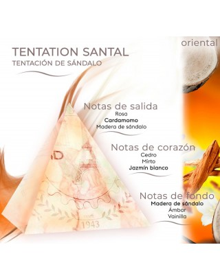 Tentation Santal 500ml Recambios