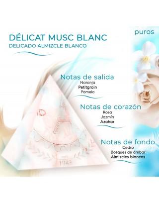 Délicat Musc Blanc 1L Recambios