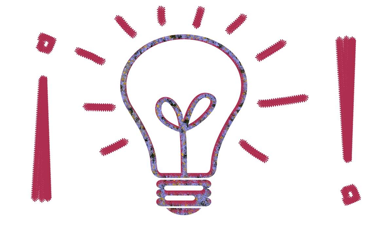 La bombilla de ideas