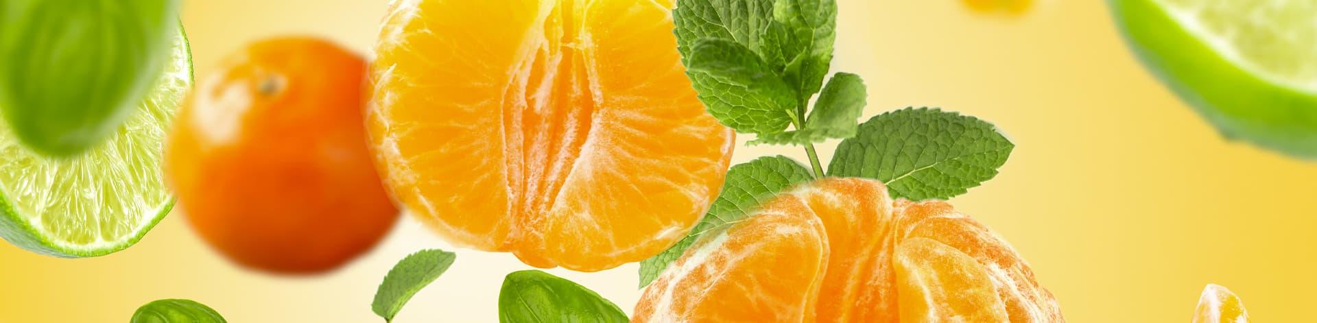 Bannière Mandarine Aromatique