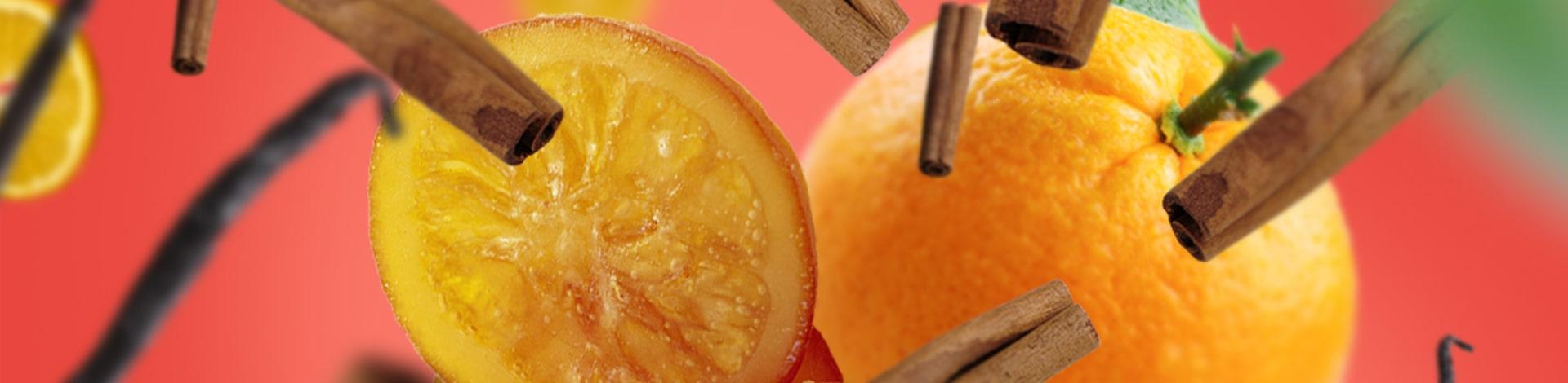 Bannière Orange de Cannelle