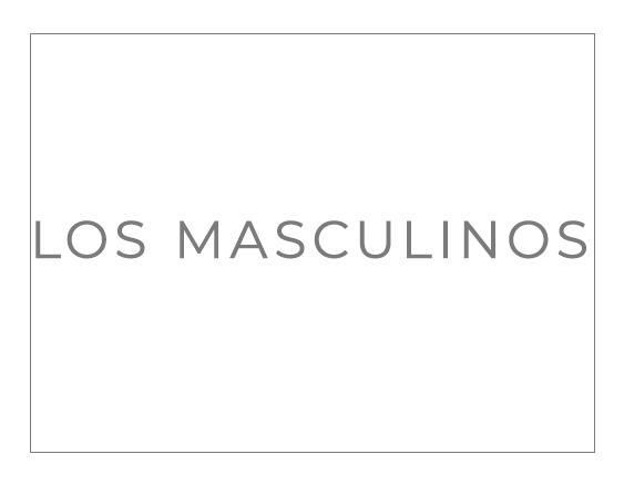 LOS MASCULINOS