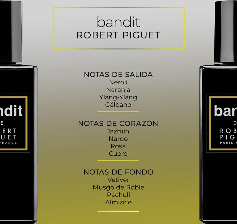 Pirámide olfativa de Bandit